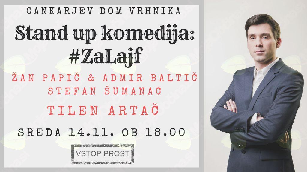 Jutri, v sredo, vabljeni na brezplačno stand-up komedijo!