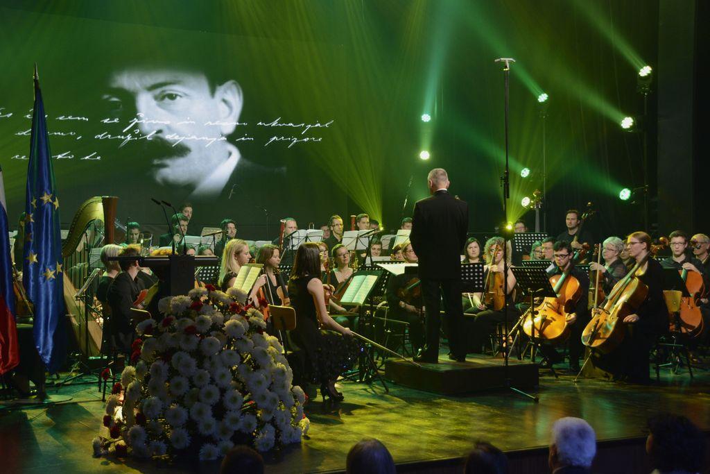 Državna proslava v spomin Cankarju