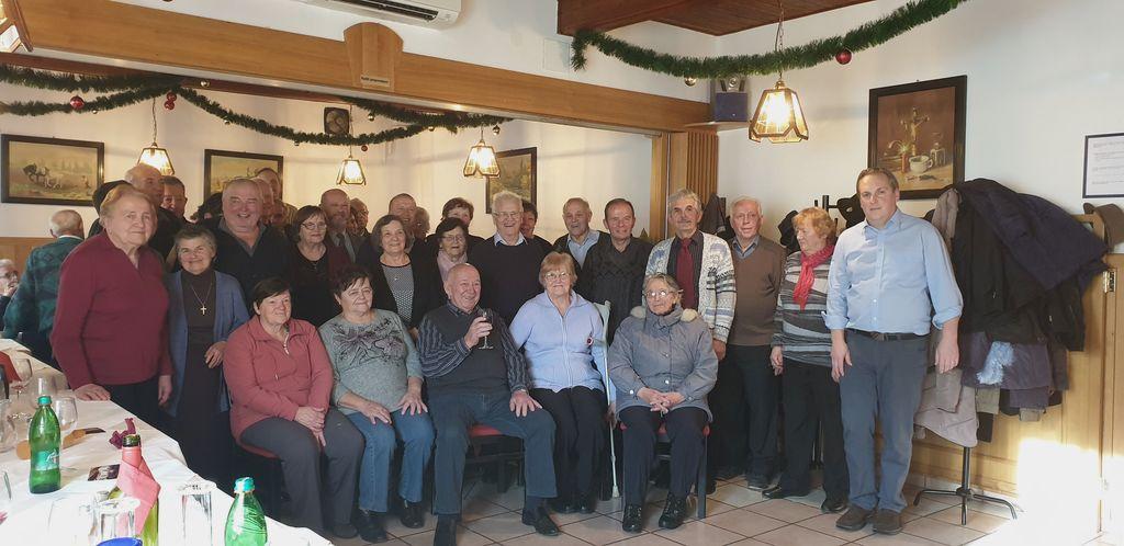 Veselo novoletno druženje v Podlipi