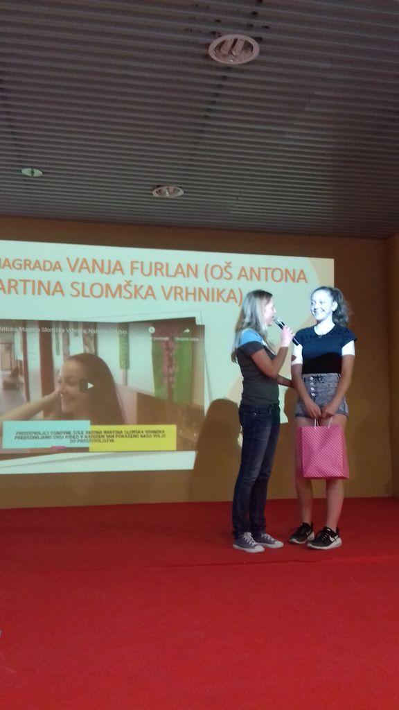 Prostovoljstvo na Osnovni šoli Antona Martina Slomška Vrhnika