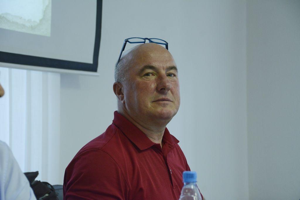 Predsednik KS Vrhnika Center Miran Garafolj