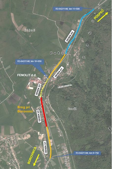 Kolesarska povezava Borovnica–Pako
