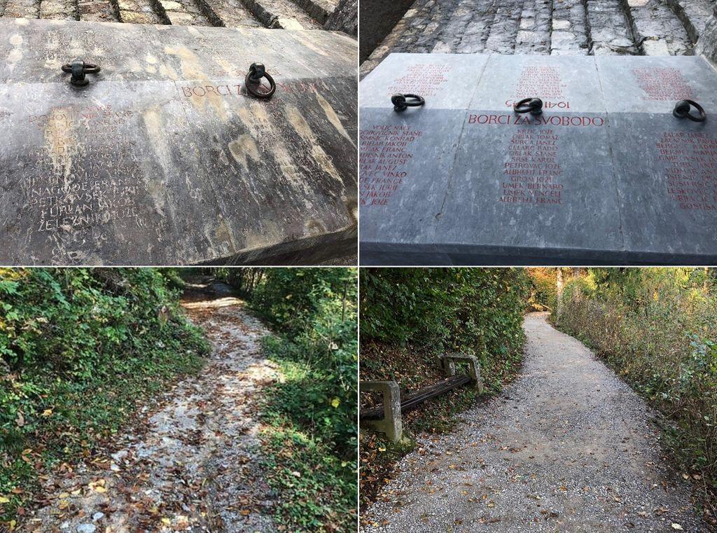 Izboljšali dostop do Drče in uredili tamkajšnji spomenik