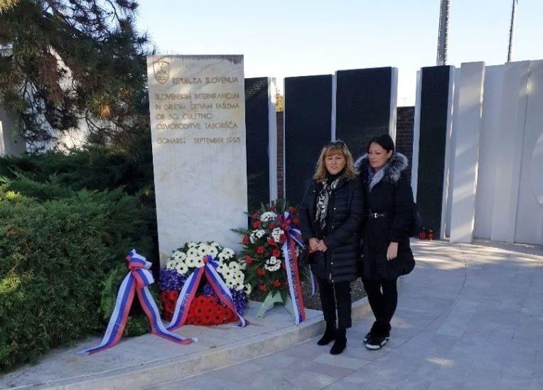 Poklon žrtvam v Gonarsu