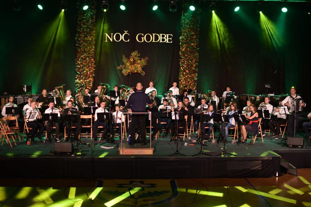 Godba Dobrova-Polhov Gradec na Noči godbe 2019