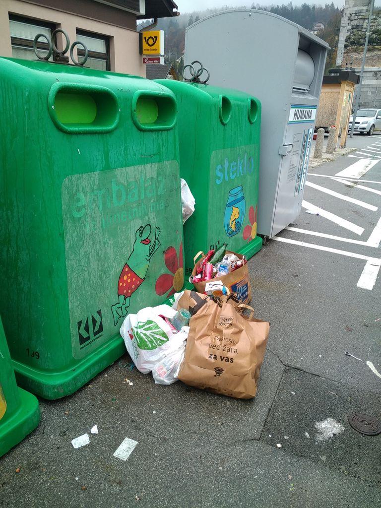 Neustrezno odlaganje odpadkov vas (nas) lahko veliko stane!