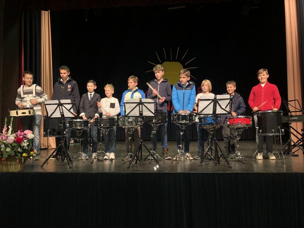 Nastopili so tudi tolkalisti Glasbene šole Emila Adamiča