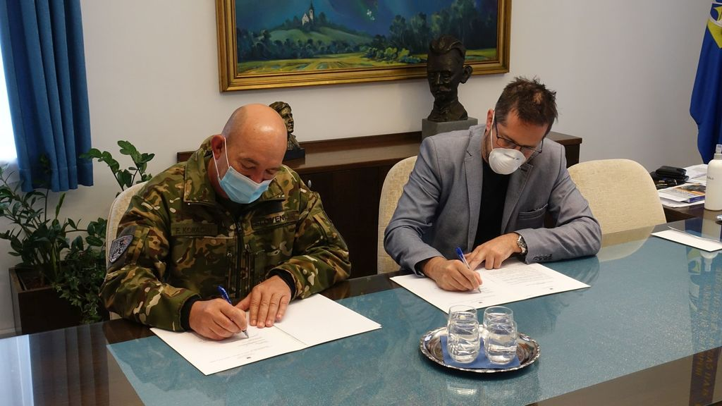Podpora občine Slovenski vojski