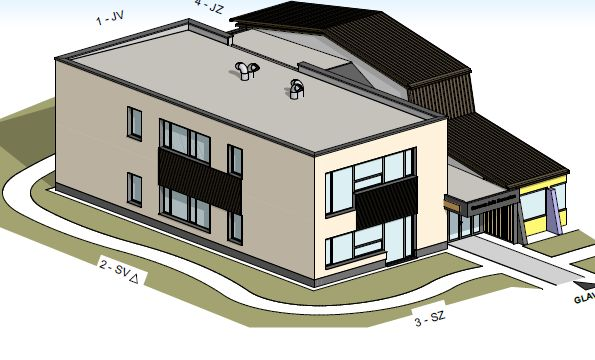 Trajnostna gradnja – od načrtov k dejanjem tudi pri gradnji prizidka k osnovno šoli