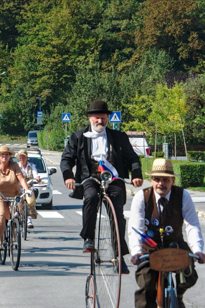 Starodobno kolesarjenje