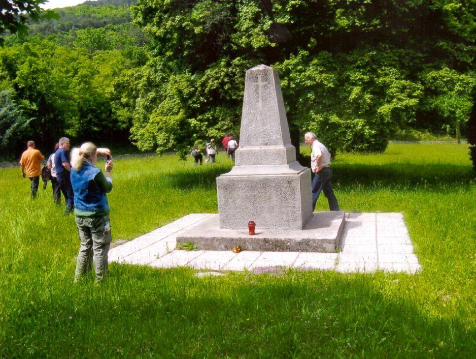 Pokopališče 1. svetovne vojne v Lipi pri Komnu, kjer je pokopan Gregor Remškar