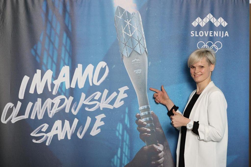 Judoistka Urška Žolnir Jugovar, olimpijska zmagovalka leta 2012 v Londonu, je ambasadorka bakle. Foto: OKS