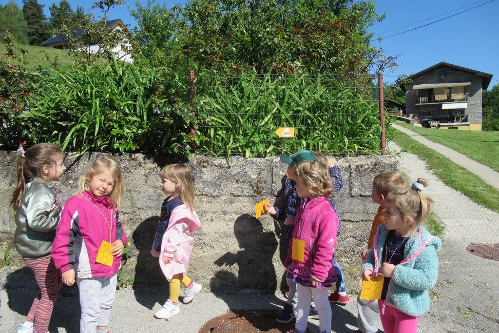 Medeni pohod v Vrtcu Borovnica