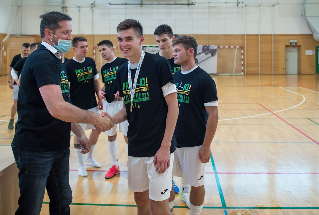 Futsal:zlato ponovno v roke U19 Siliko Fortrade