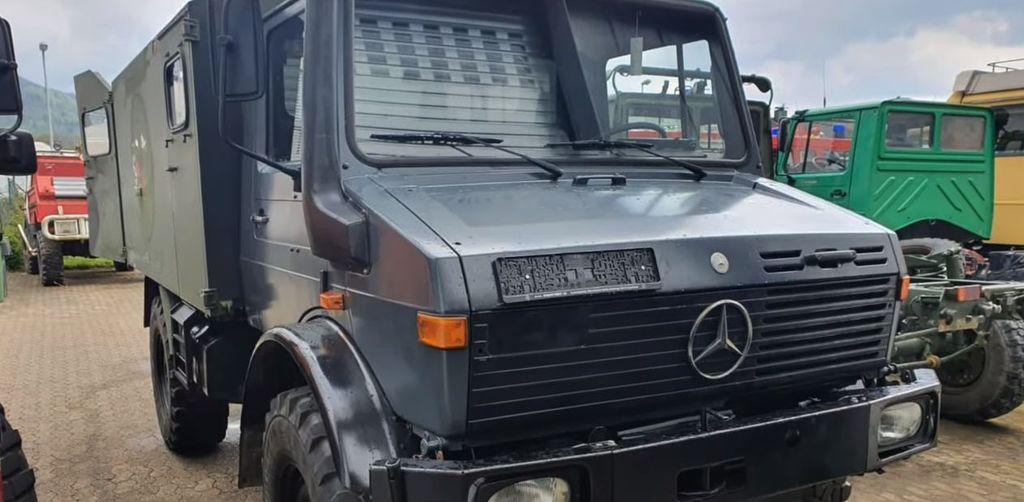 Nemško vojaško vozilo iz katerega je nastalo misijonsko vozilo