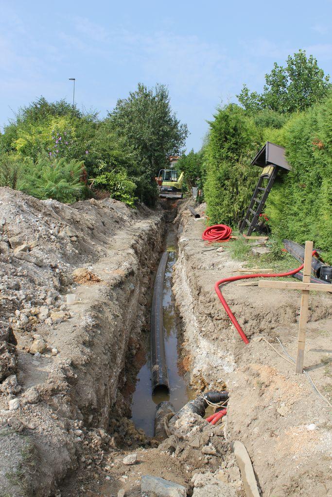 V Jordanovem kotu zgrajene več kot kilometer vakuumske fekalne kanalizacije