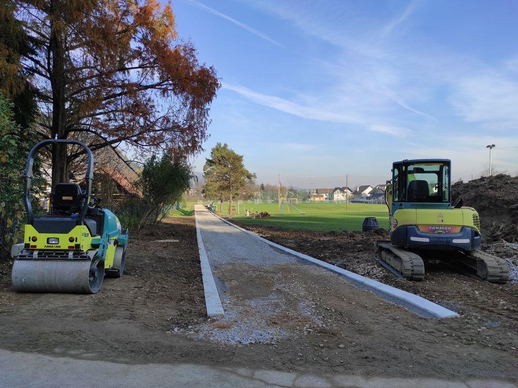 Občina nadaljuje z urejanjem varnih poti
