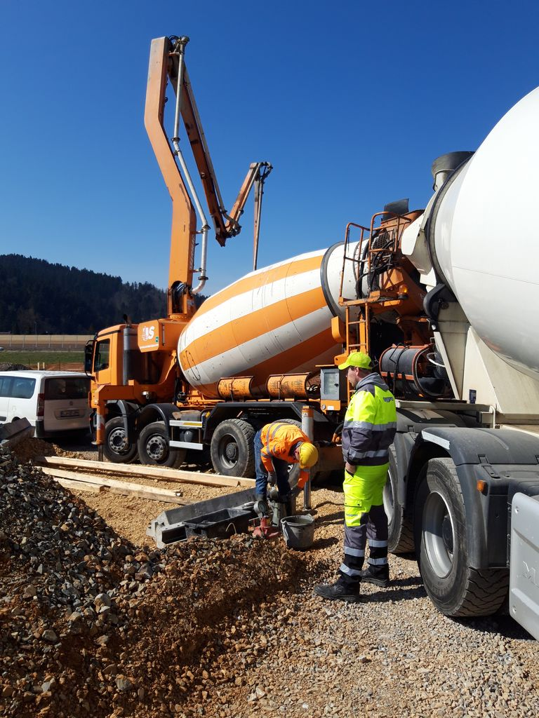 Nadaljuje se izvedba zemeljskih del na čistilni napravi
