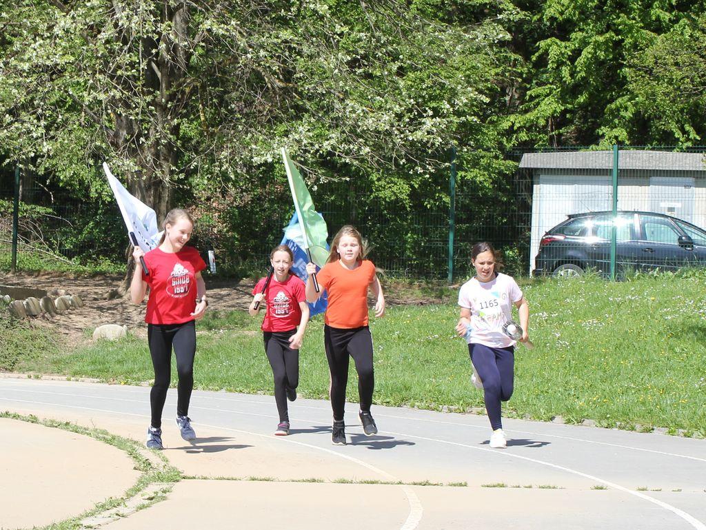 Olimpijska bakla se je ustavila tudi v naši občini