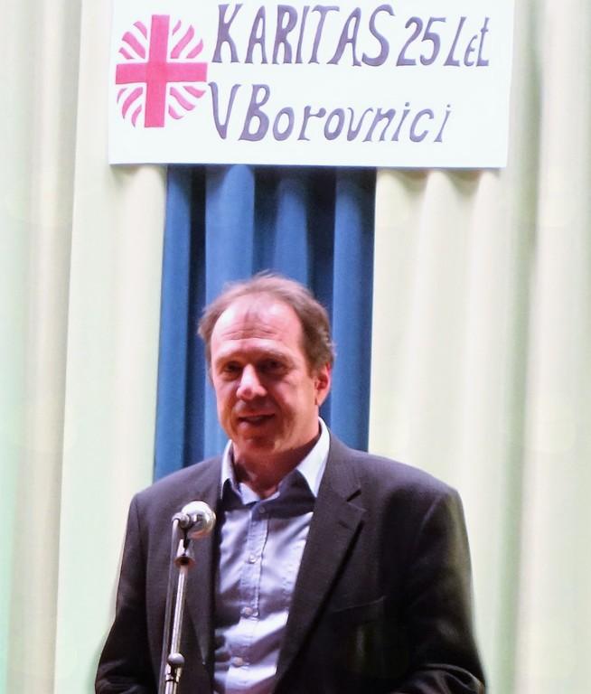 Generalni tajnik Slovenske karitas Jože Kern: »Delo karitas je pričevanje za božje usmiljenje.«