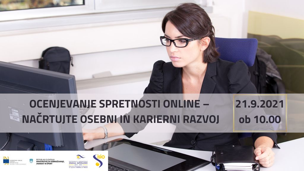 Ocenjevanje spretnosti online - načrtujte osebni in karierni razvoj