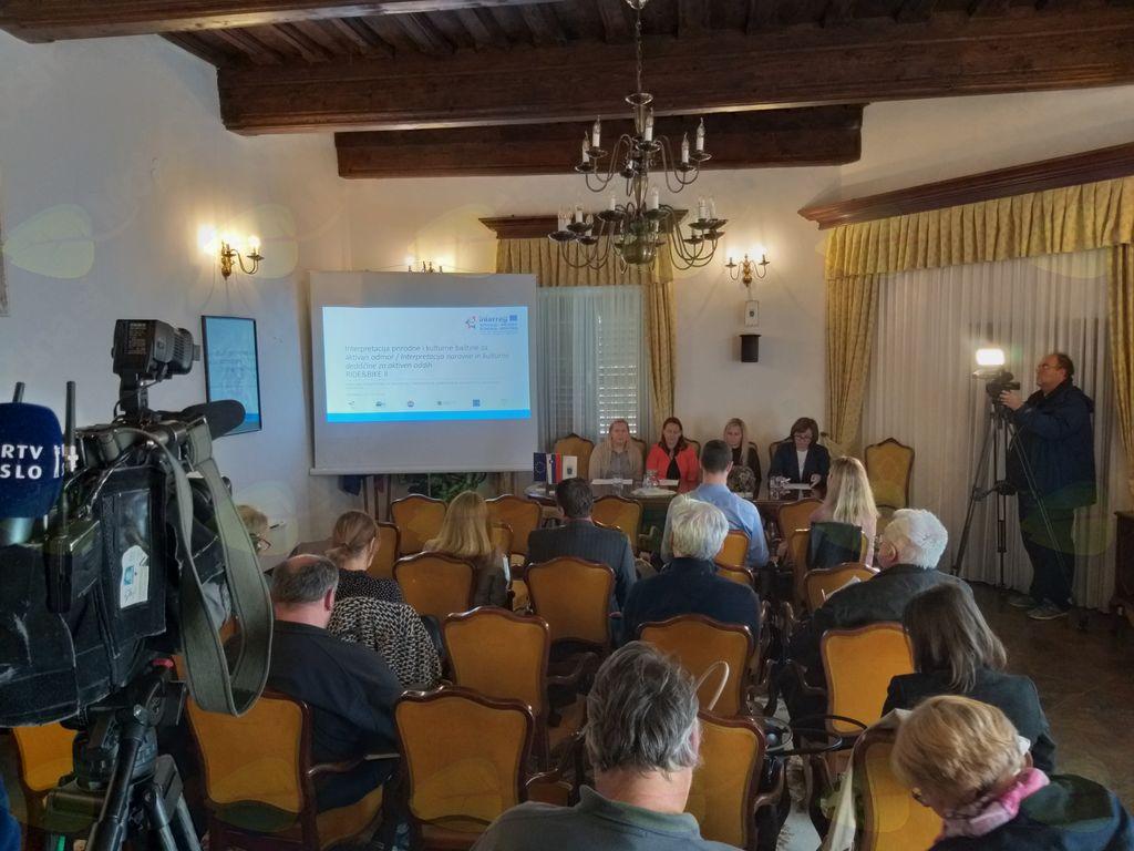 Novinarska konferenca ob začetku izvajanja čezmejnega projekta RIDE & BIKE II