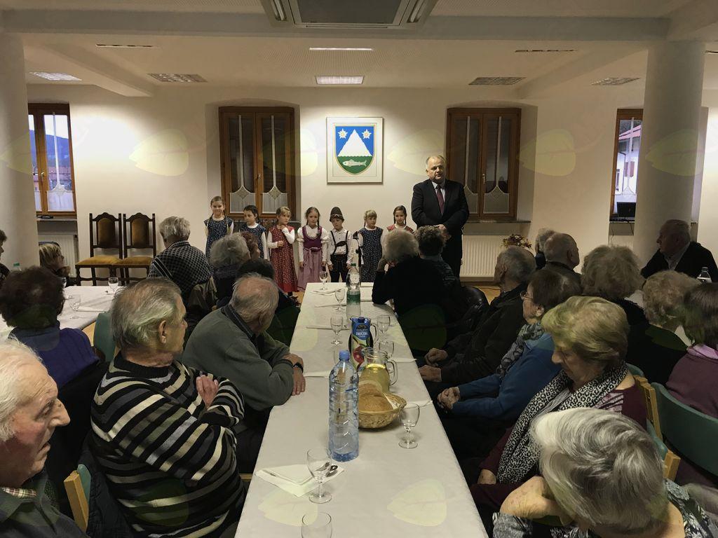 Tradicionalno srečanje starejših občanov občine Kobarid. Foto: Tanja Skočir