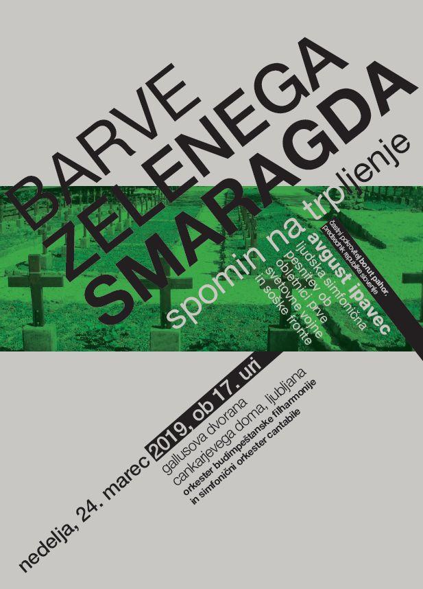 BARVE ZELENEGA SMARAGDA