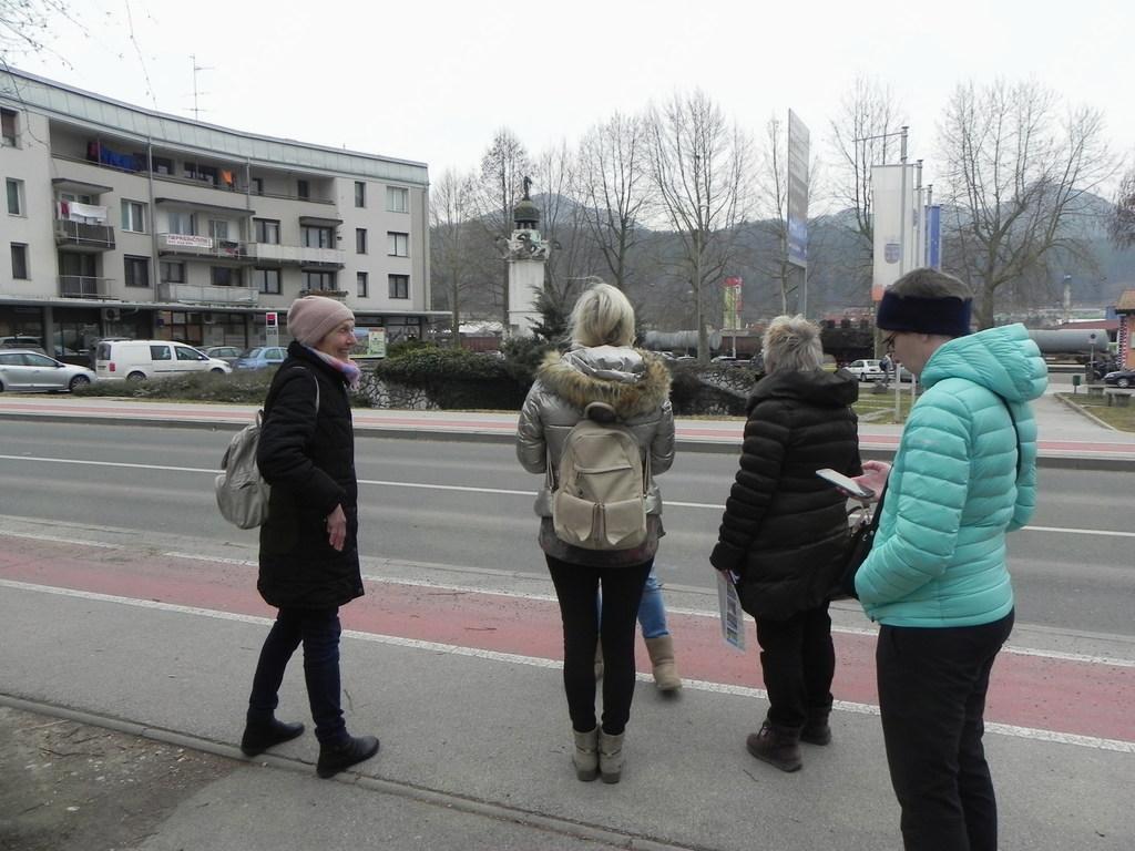 Vodenje po Sevnici na Svetovni dan turističnih vodnikov 21. februarja