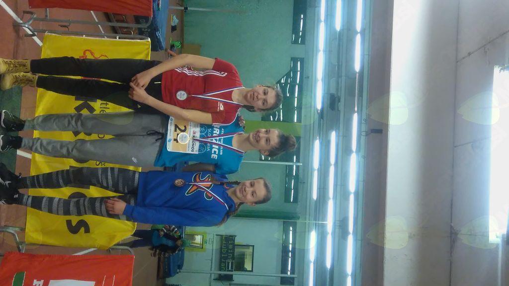 Državna prvakinja v kategoriji pionirjev U16
