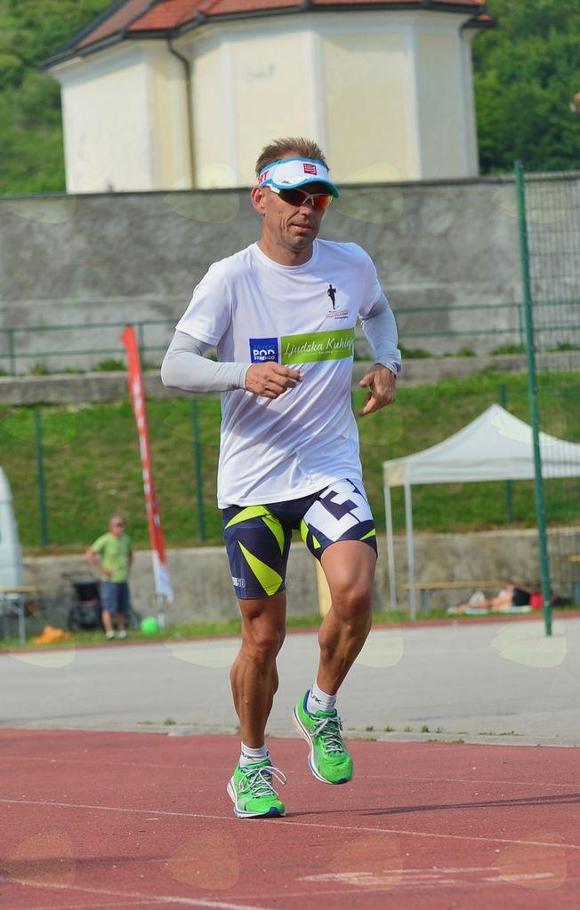 Odtekel bo 42 maratonov, enega tudi v Sevnici