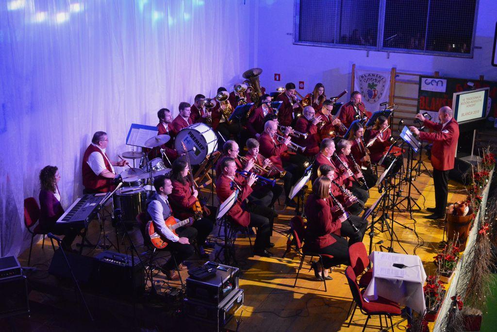 Božično – novoletni koncert na Blanci