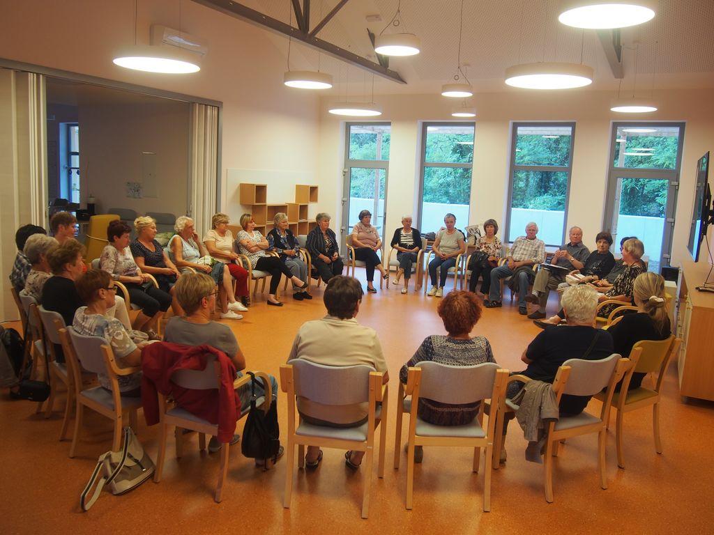 Predavanja v soorganizaciji Občine Kanal ob Soči s Klaro Golja so bila vedno izjemno dobro obiskana in tudi vedno zelo poučna in zanimiva.