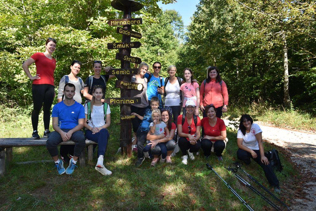 Pohod na Mirno goro ob 20 letnici Kluba