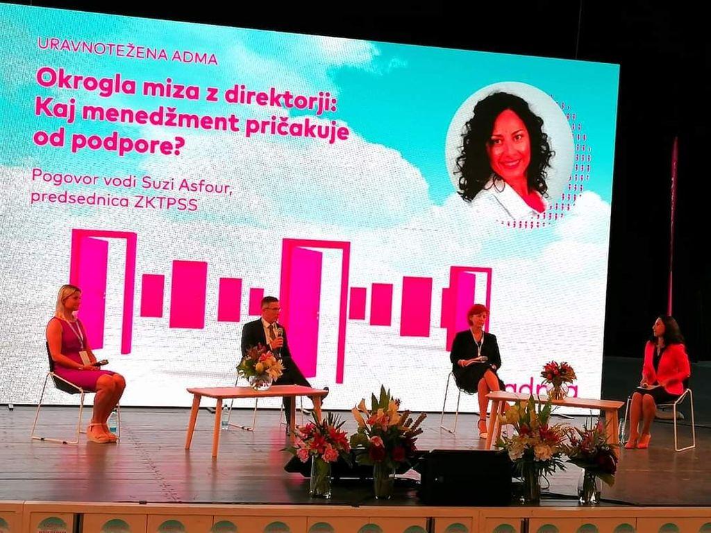 Avditorij Portorož v znamenju ADME