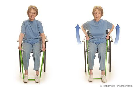 Elastike lahko uporabimo tudi za rehabilitacijo