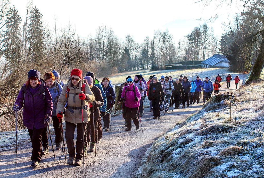 Jutro 7. januarja je bilo sončno, a mrzlo (foto Tatjana Rodošek)