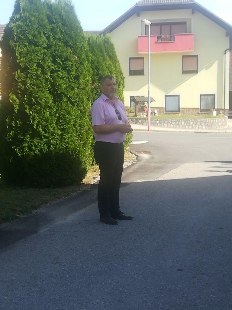 Župan Srečko Ocvirk je poudaril pomen čiste in neoporečne vode (foto: Janja Tratar)