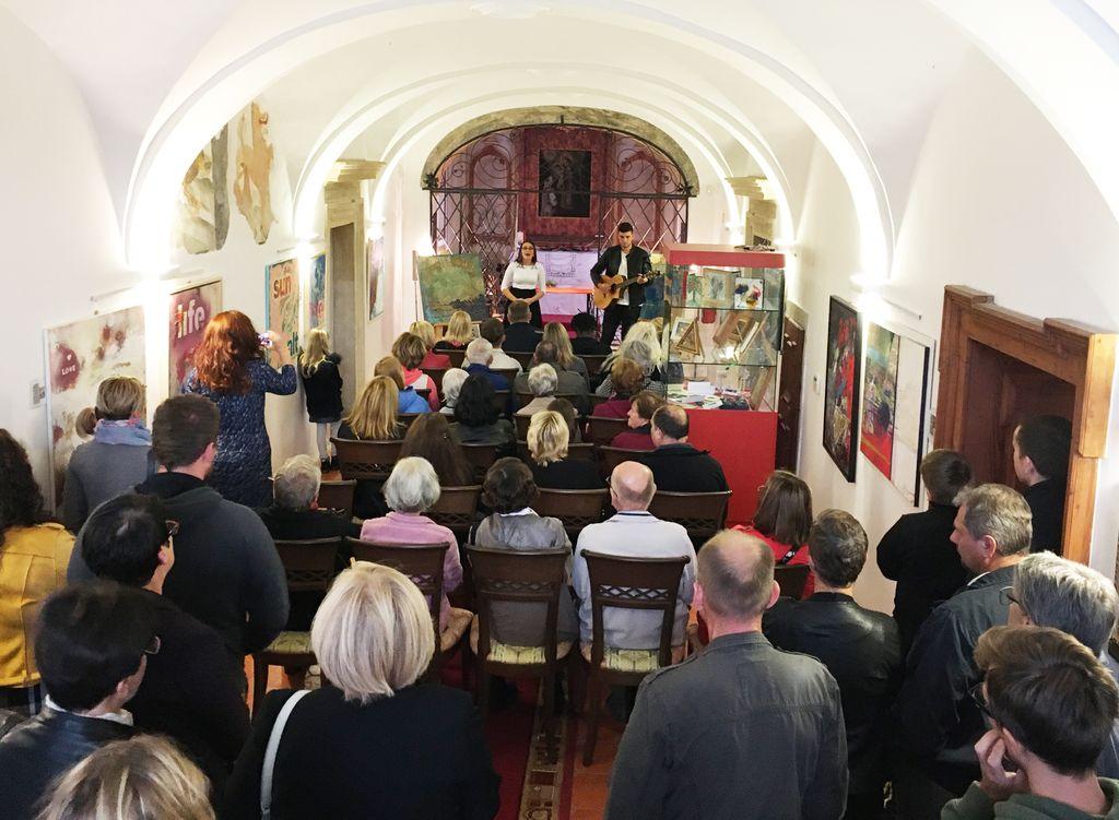 Uradni zaključek slikarske razstave in nadaljevanje