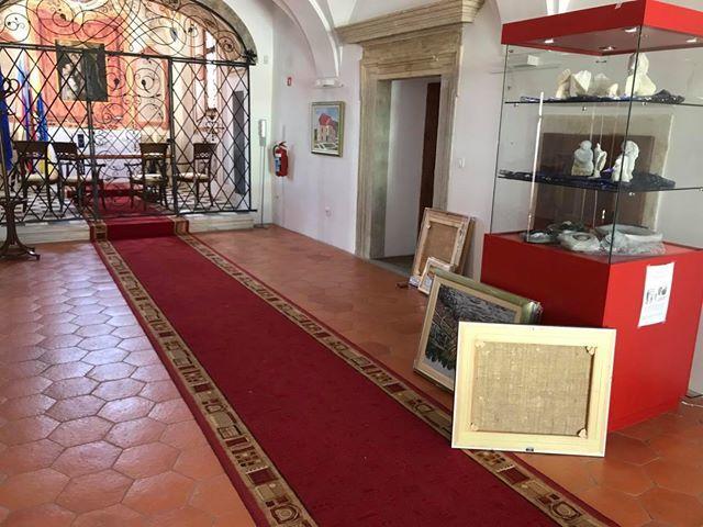 Zaključek slikarske razstave gosta Kulturno umetniškega društva Oplotnica v oplotniški graščini