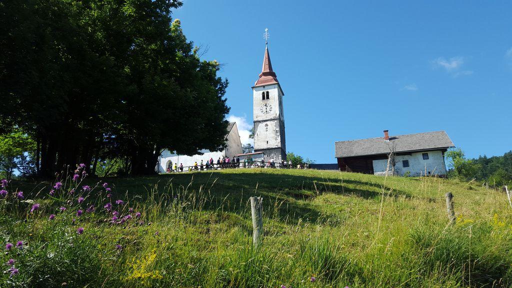 Cerkev sv. Marjete v Žlebah