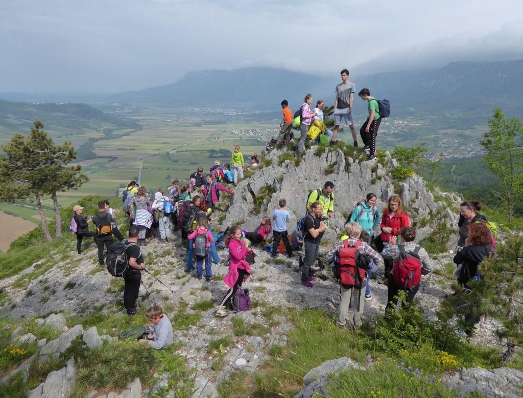 Srečanje mladih planincev
