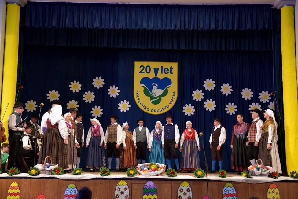 Velikonočni koncert Folklorne skupine Vipava z gosti