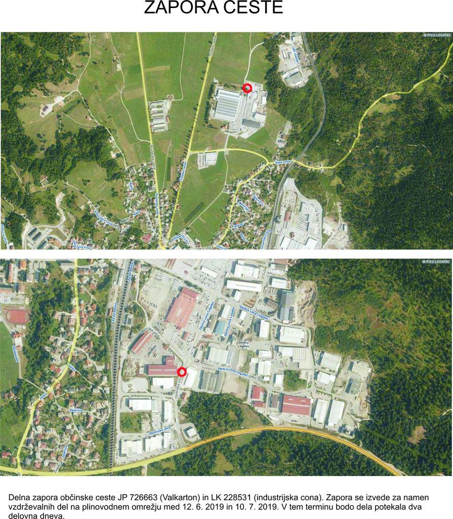 Zapora Valkarton in industrijska cona