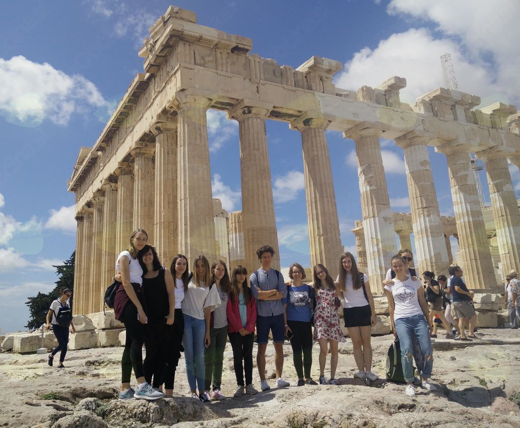 ŠGV znova na poletni šoli v Grčiji