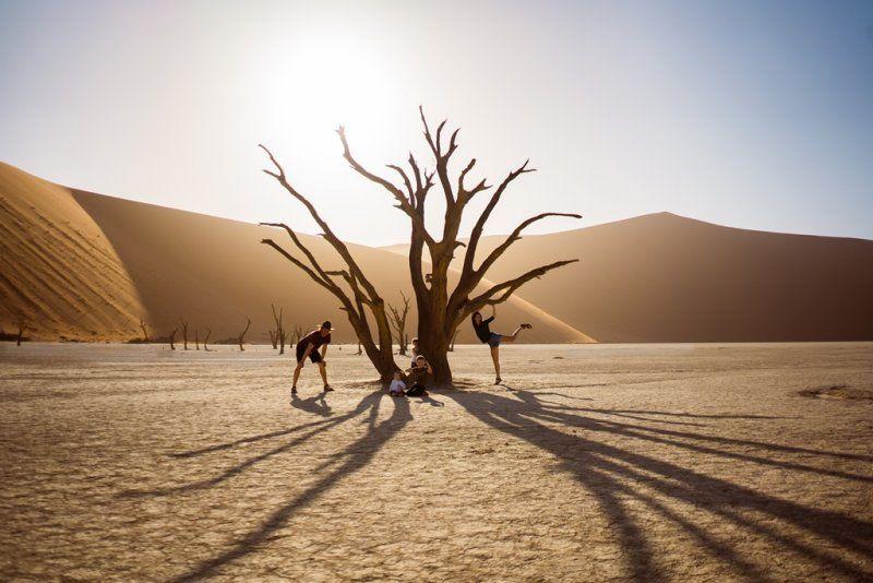 Potopis: Družinsko raziskovanje Namibije