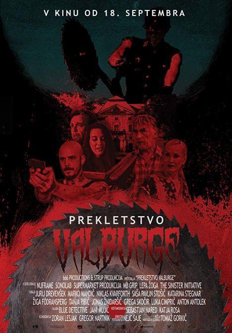 Projekcija slovenske grozljivke Prekletstvo Valburge in pogovor z ustvarjalci