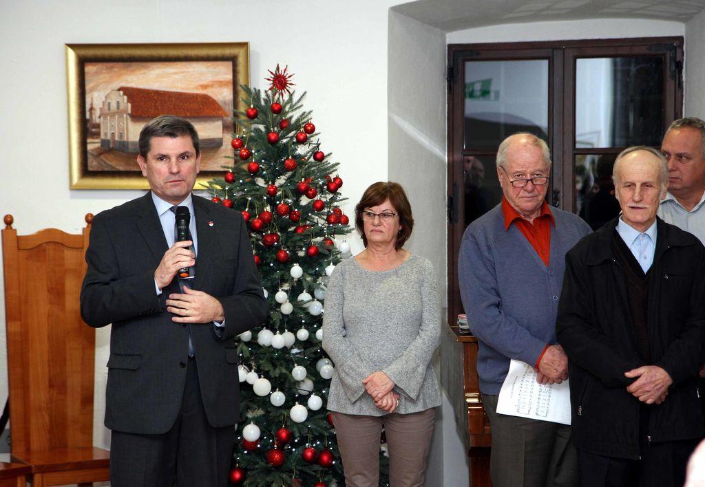 Z odprtja razstave 10. decembra