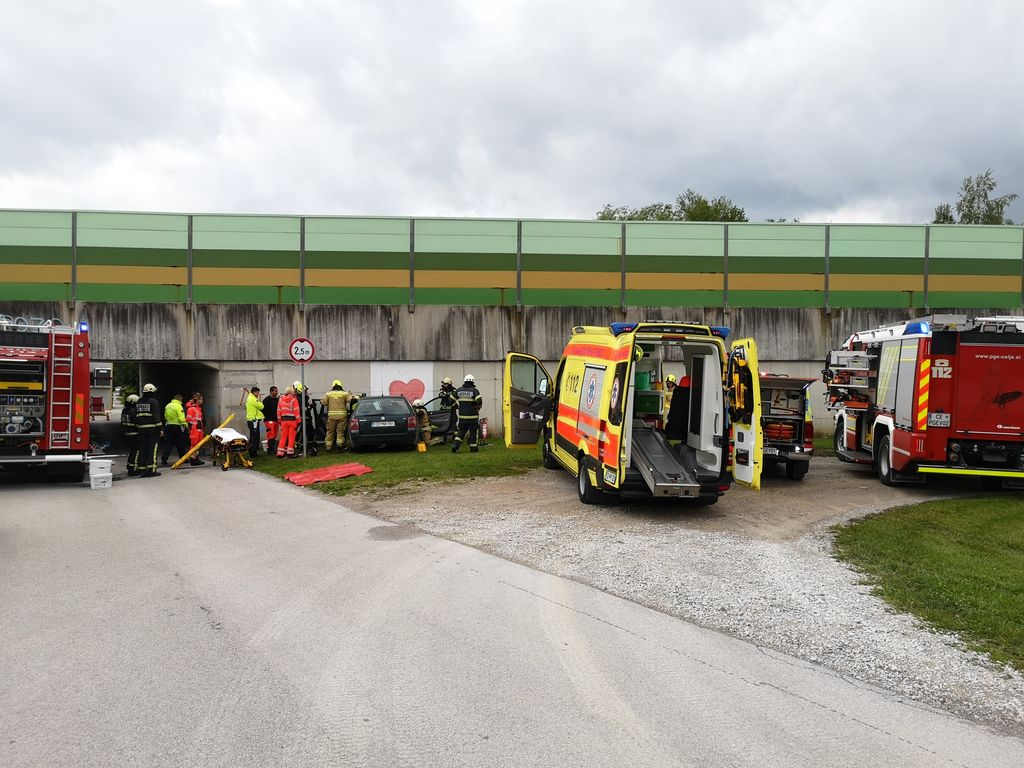 Prometna nesreča - Ločica ob Savinji