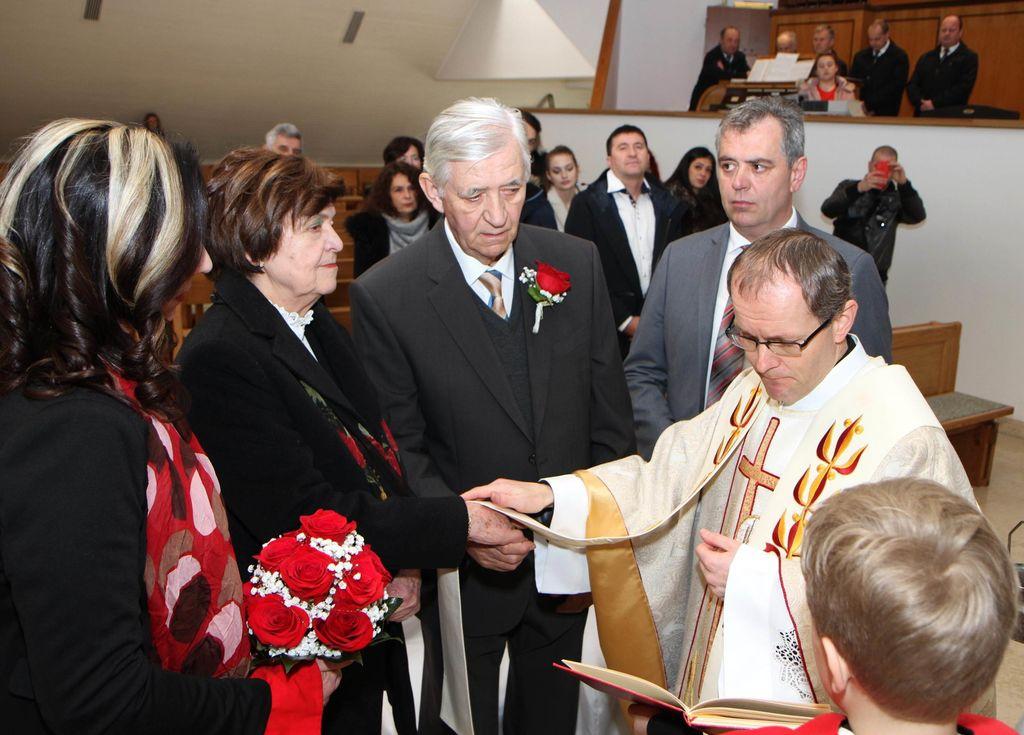 Zlata poroka Ivice in Marjana Severja